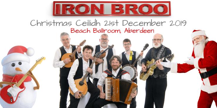 Iron Broo Christmas ceilidh