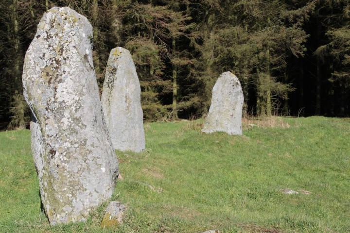 Aikey Brae Standing Stones