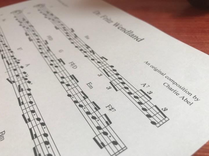 original Scottish compositions free sheet music