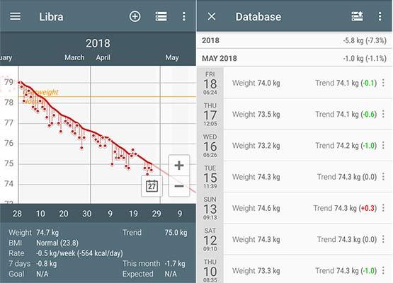 how to measure fat loss progress libra