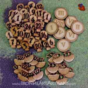 Kings of War MDF Token Set