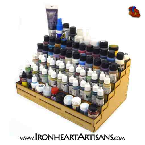 6 tier paint rack