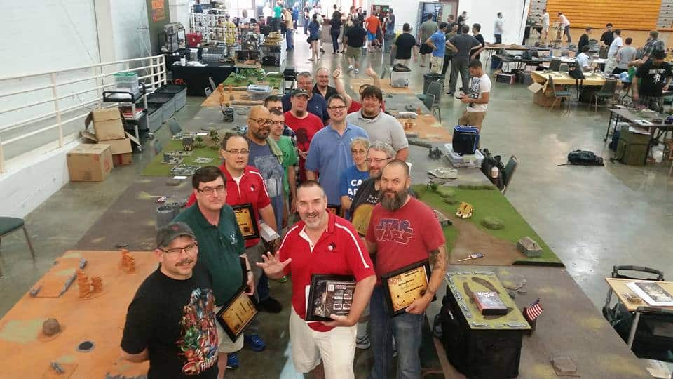 Had a great time at the ATC kings of war team tourney