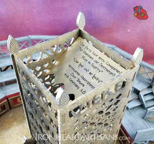 Vettweiss Froitzheim Dice Tower Replica
