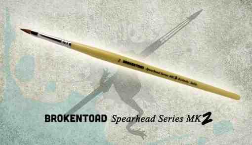 Spear Head Brush No 2