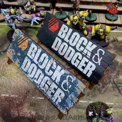 Blood Bowl Block & Dodger