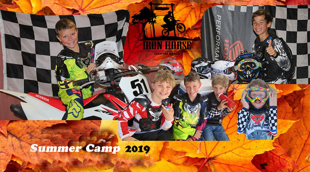 Motocross Summer Camp Riders