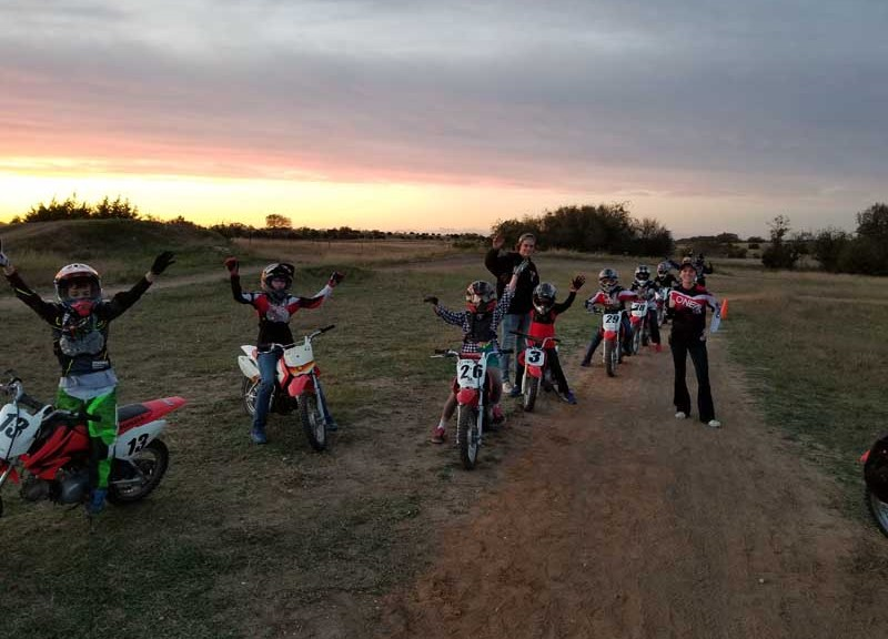 overnight summer motorcycle camp