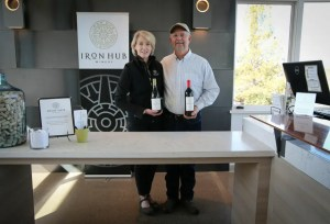 Iron Hub Winery's Tom and Beth Jones