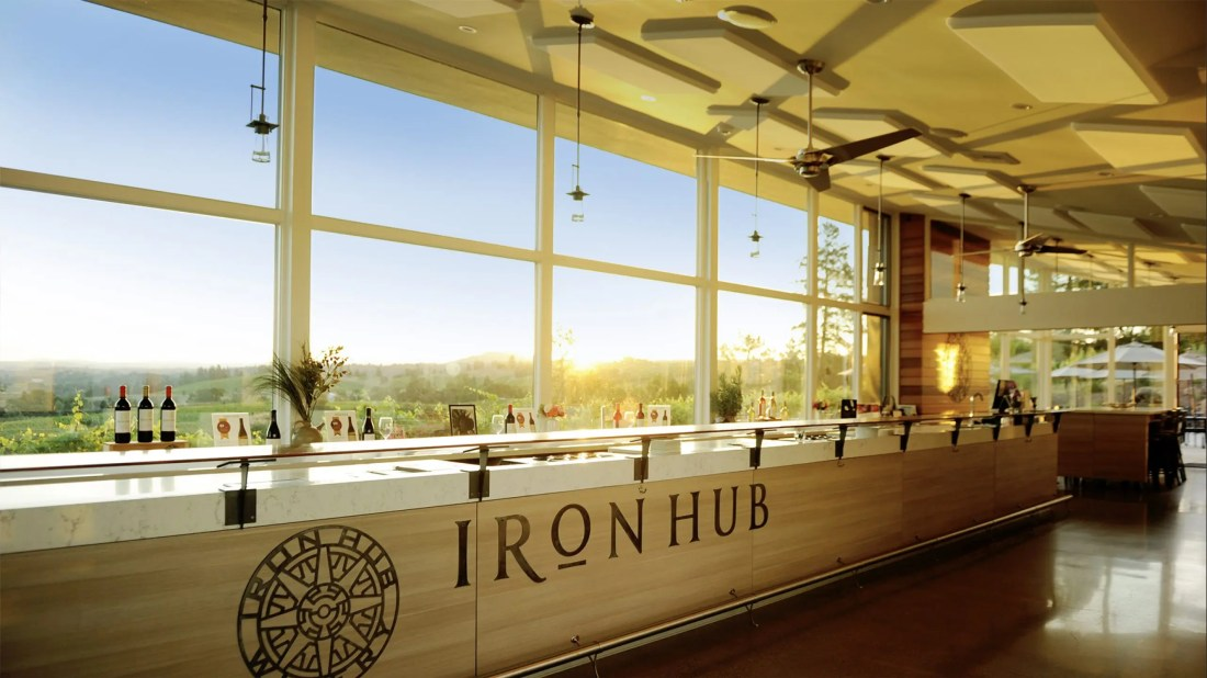 Iron Hub Winery Tasting Room