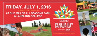 City of Lloydminster Canada Day 2017 Facebook Cover Image