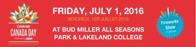 City of Lloydminster Canada Day 2017 Web Banner