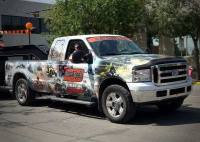 Truck Wrap: Rec-Tech Power Products