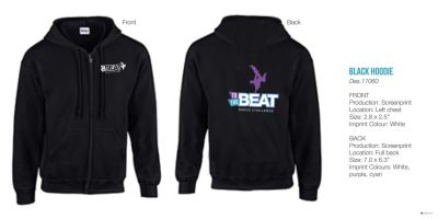 To the Beat Hoodies
