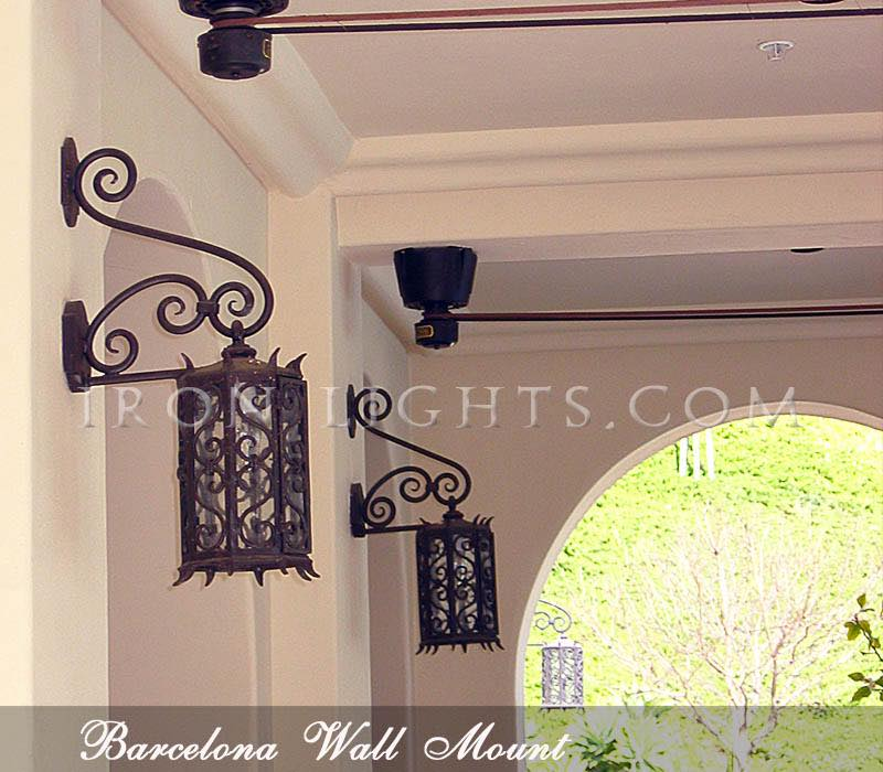 spanish style colonial revival lights