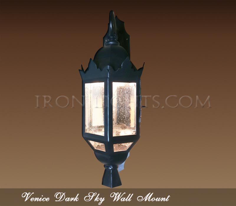 dark sky spanish revival lights