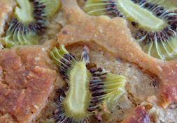 Kiwi banana bread..{low fat}