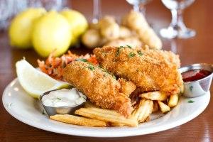 Iron Rabbit fish and chips