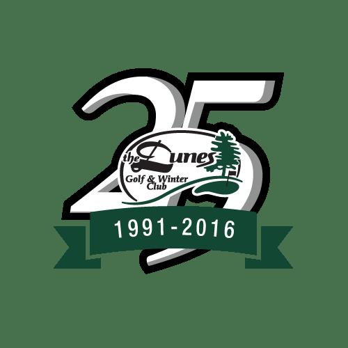 Logo Design - The Dunes Golf & Winter Club 25th