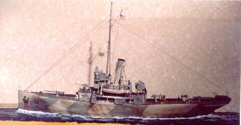 Uscgc Modoc Wpg 46 Kit 4 130