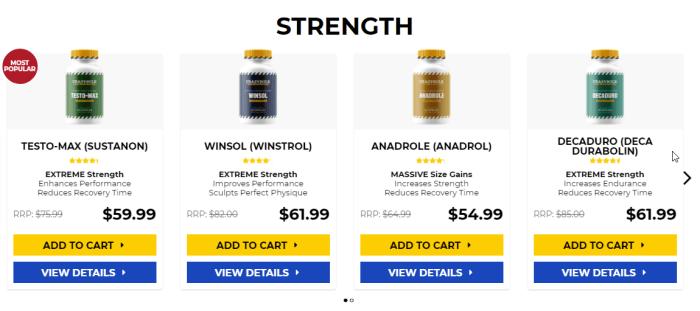 Anabolic steroids bodybuilding