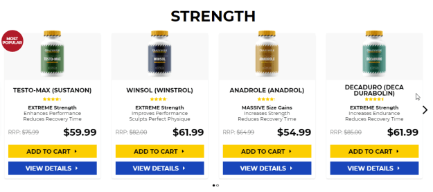 Supplement stack for runners