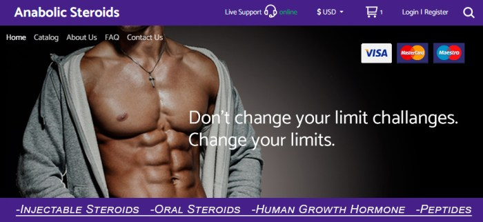Anabolic steroids treatment