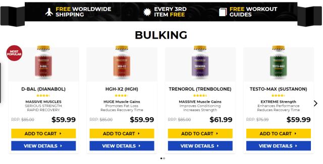 Best muscle building steroids