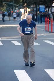 older triathlete