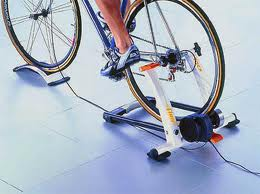 bicycle indoor training stand