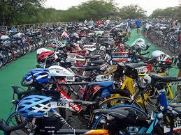 car bike rack tips -bike transition zone