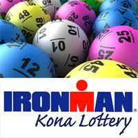 lottery draw image for Kona, Hawaii ironman