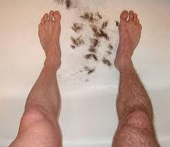Ironman triathlete leg shaving