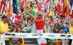 Ironman Hawaii Championship results 2015