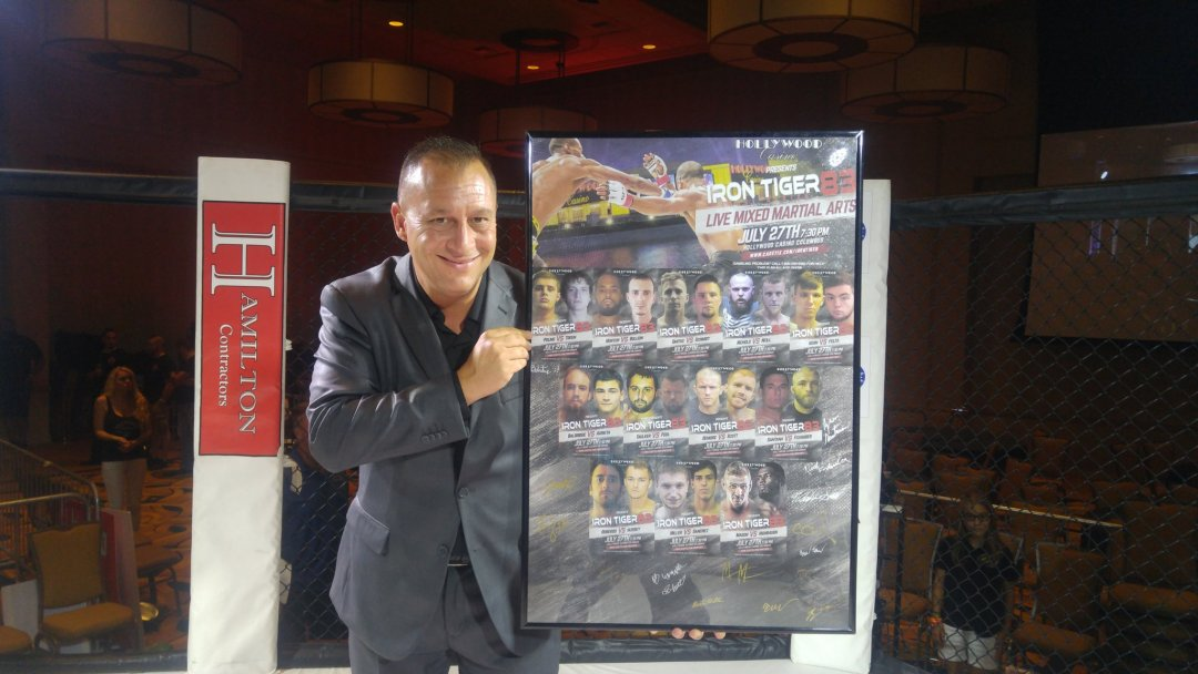 Autographed Iron Tiger 83 Framed Poster Now On Sale!