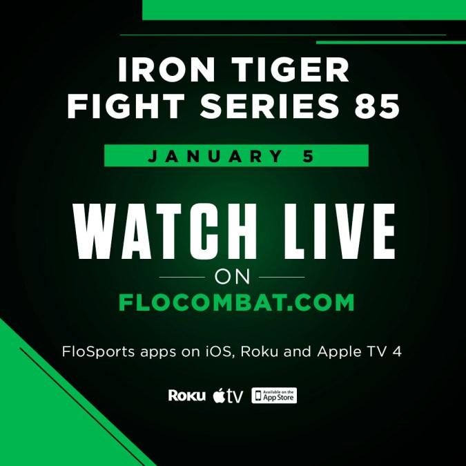 Iron Tiger Fight Series 85 Live on FloCombat