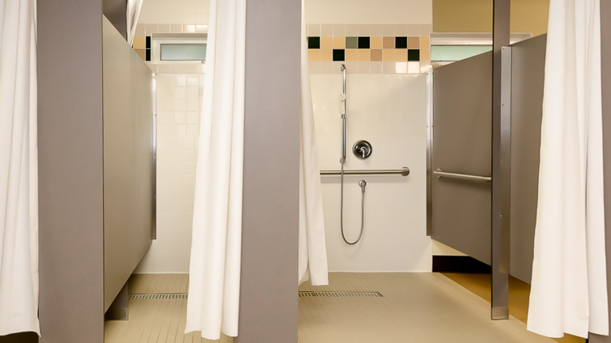 Shower Partitions Ironwood Mfg