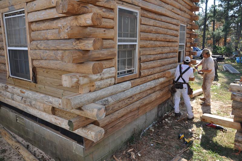 Log Cabin Exterior Maintenance