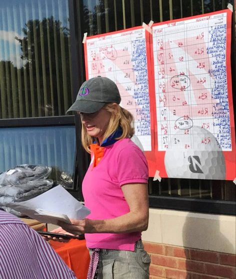 Carolyn Galiette, Ironwood Capital president and chief investment officer, at the 2018 Ironwood Capital golf outing