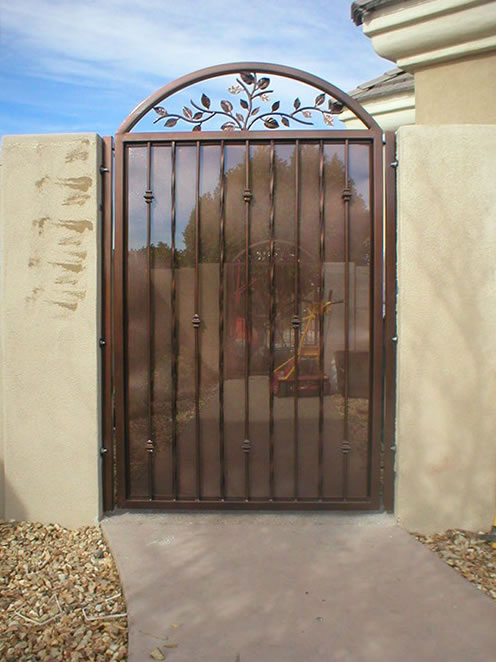 Country Style Entry Gate