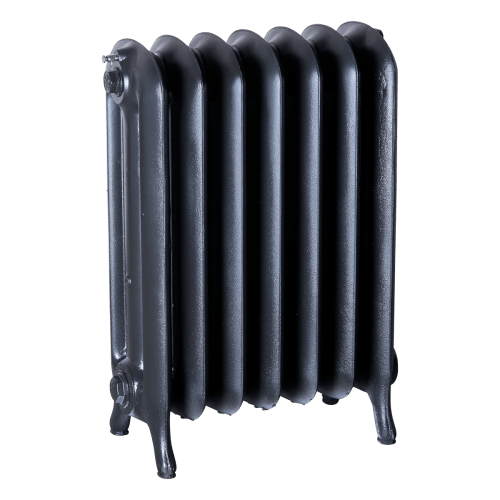 Ironworks Radiators Inc. refurbished cast iron radiator Eglinton in Black