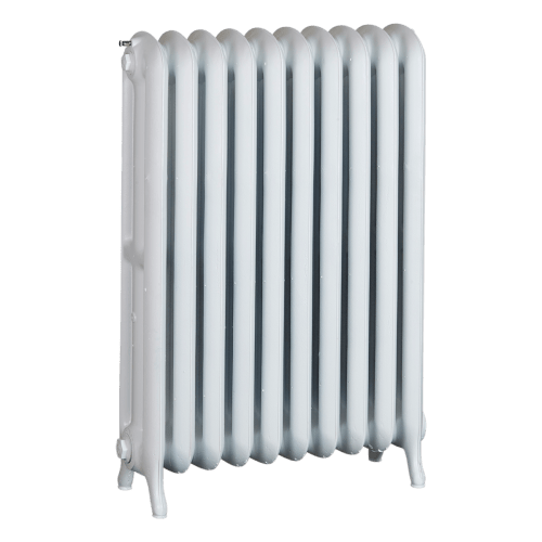 Ironworks Radiators Inc. refurbished cast iron radiator Yonge in Semi-gloss white