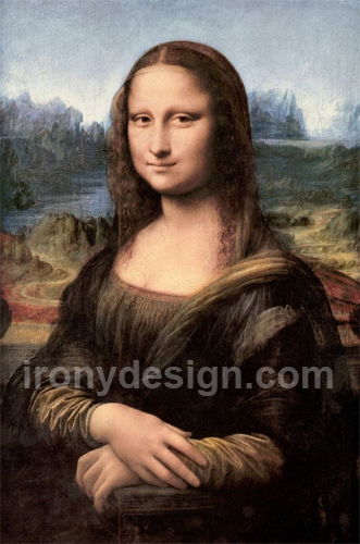 "Mona Lisa Portrait / Painting Prints - The Mona Lisa by artist Leonardo da Vinci, which has been acclaimed as ""the best known, the most visited, the most written about, the most sung about, the most parodied work of art in the world."""