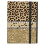Leopard Spot Gold Glitter Rhinestone Print Pattern Gifts