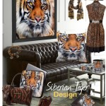 The Siberian Tiger close-up photograph Products