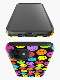 Happy Colorful Smiling iPhone Cases