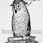 Grammar Owl Says Whom Merchandise