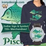Zodiac Pisces Sign Merchandise