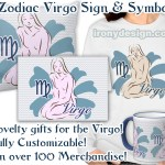 Zodiac Sign Virgo Symbol Gifts