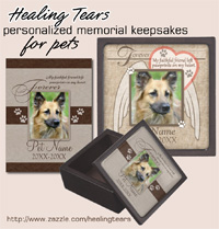 Healing Tears. Personalized Memorial Keepsakes